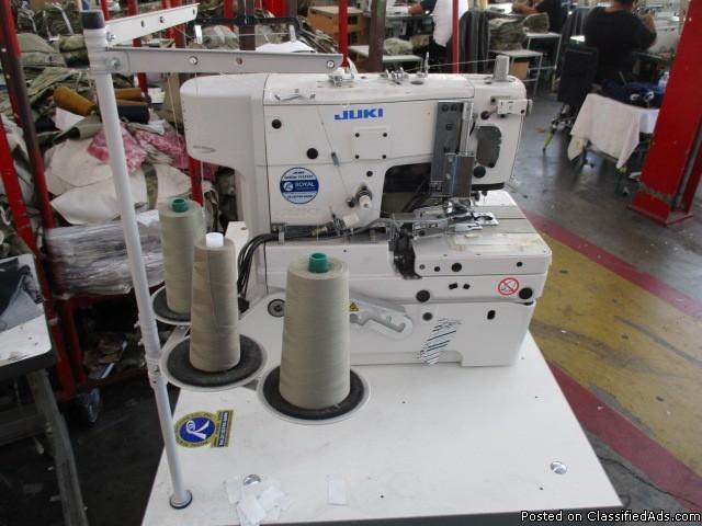 2015 Juki LK1903B/BR35 Sewing Machine RTR#6101119-01