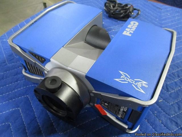 2014 Faro Focus 3D X 330 Laser Scanner RTR#7032409-01