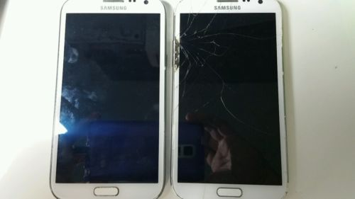 2- Samsung Galaxy Note 2 for parts