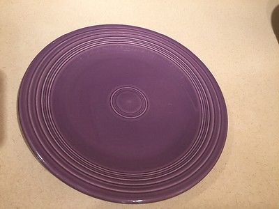 Fiesta Ware Lilac 10.5 inch dinner plate