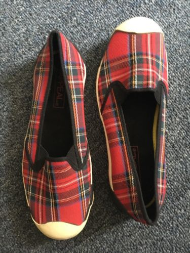 canvas slip on shoes