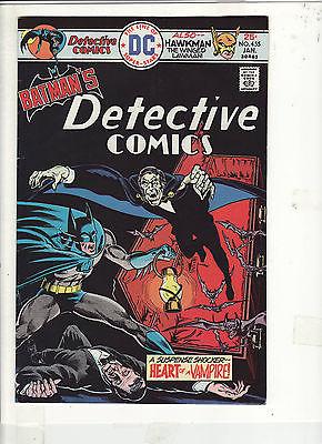 DETECTIVE COMICS #455 VF+