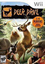 Genuine Original Artwork Insert for Nintendo Wii Deer Drive