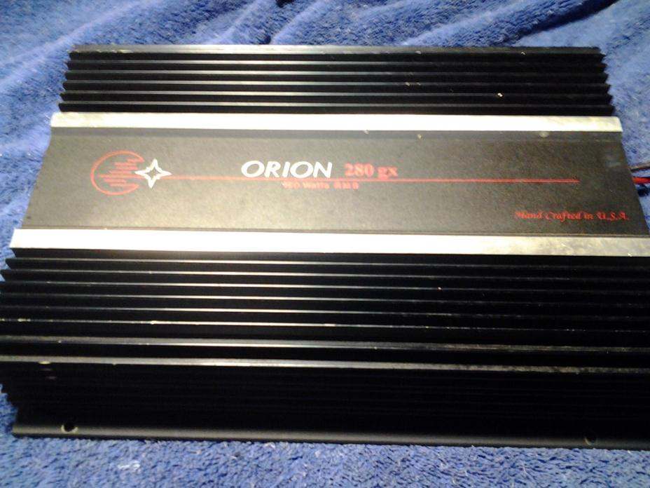 Orion 280 gx  old school amp