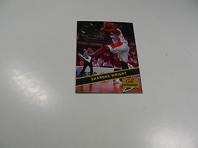 Sharone Wright 1994 Rookie Signatures Gold Standard card #25