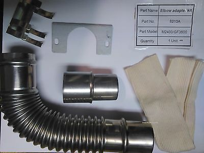 Elbow Adapter Kit for Monitor Heater Parts # 8213A   Monitor 2400, Monitor 422