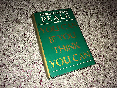 YOU CAN IF YOU THINK YOU CAN Book NORMAN VINCENT PEALE Hardcover PMA Self Help