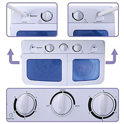 Portable washer and dryer laundry 11 lbs