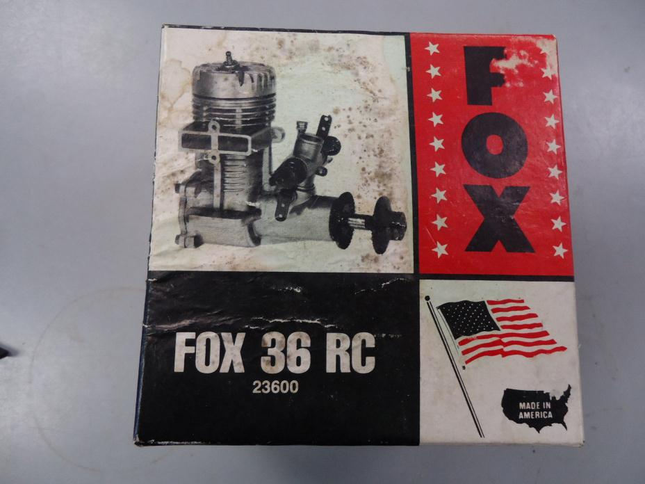 FOX 36 RC Engine 23600 with box and manual