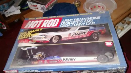 REVELL 1/16 DON PRUDHOMME ARMY DRAGSTER AND MONZA FUNNY CAR DOUBLE KIT SEALED!!!