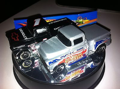 Hot Wheels LOT  '56 CHEVY Flashsider Truck '96 Race Team & '98 #899 Mint LOOSE