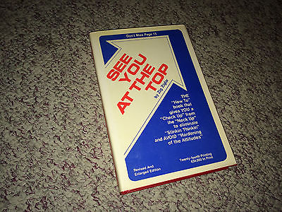 SEE YOU AT THE TOP Book ZIG ZIGLAR Hardcover Business Self Help Success