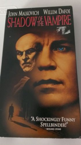 Shadow of the Vampire (VHS, 2003