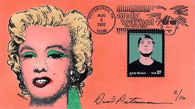 #3652 Andy Warhol Peterman FDC (14620023652001)