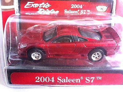 Motor Max Exotic Rides 2004 Saleen S7 Burgundy Red Luxury Sport Racing #73632