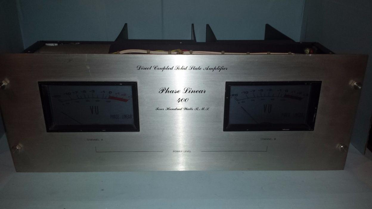 Phase Linear 400 Direct Coupled Stereo Amplifier 400 W RMS