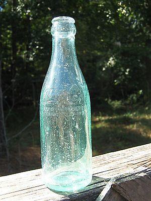 Shoulder Script Straight Sided Coca Cola Coke Bottle Jacksonville Florida Fla Fl