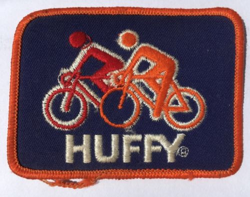 Old School BMX Huffy New NOS sew on patch, approx 1981 Huffy Pro Thunder