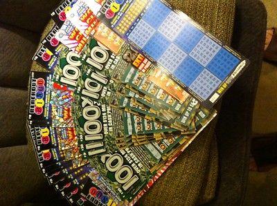 Illinois state lottery tickets