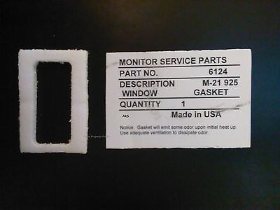Window Gasket for Monitor Heater Parts # 6124, Monitor 441, Monitor 40