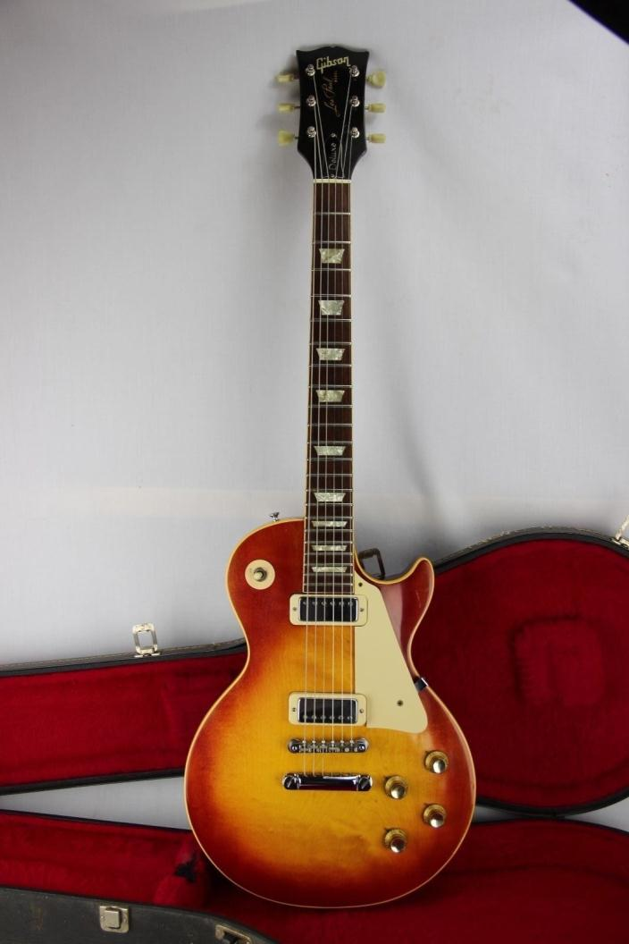GIBSON VINTAGE LES PAUL DELUXE