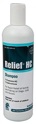 Relief HC Shampoo 12 Ounce