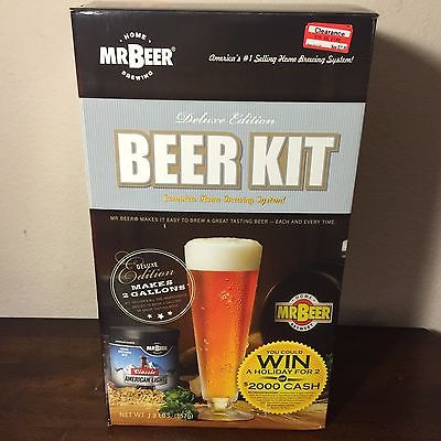 Mr beer home brewing kit Delux edition in box complete home brewing system