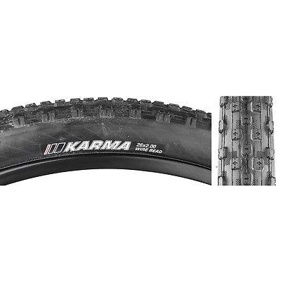 Kenda Tire Karma 26X2.0 Black/Bsk/Dtc Wire