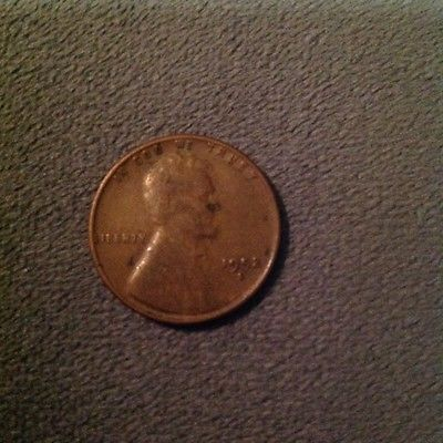1952 S Wheat Penny