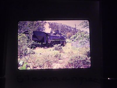 35 mm slide South Africa Tourist Train Railroad steam engine coal car locomotive