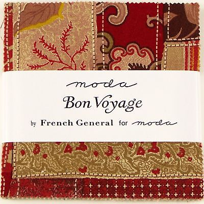 BON VOYAGE Charm Pack by French General for Moda Fabrics