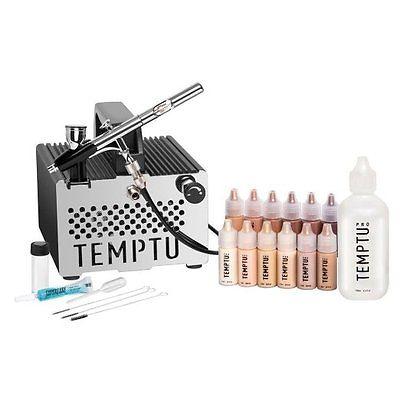 New TEMPTU S-One Premier Airbrush Makeup Kit System