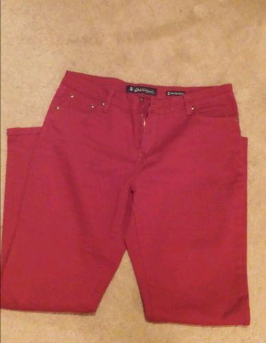 Red Skinny Jeans. Sz. 14