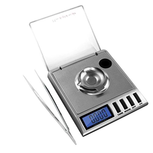 Next-shine High Precision Digital Milligram Scale 20 x 0.001g Reloading with Sal