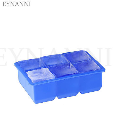 Ice Tray Cream Cake Chocolate Jelly Ice Cube Soap Silicone Mould Mold Tray