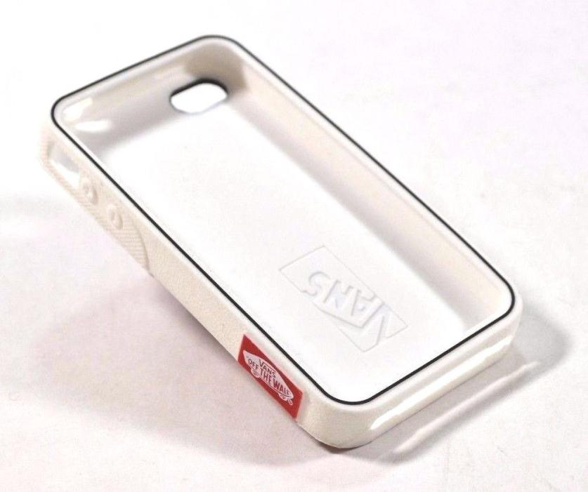 Vans WAFFLE White Brown iPhone 4G And iPhone 4S Molded Rubber Phone Case