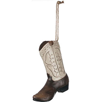 Western Cowboy Cowgirl Boot Ornament 5
