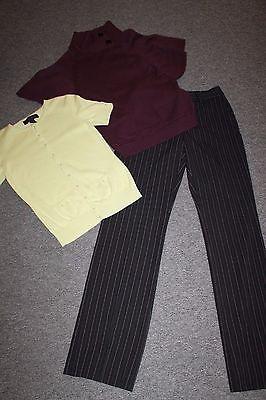 LOT 18p Woman Clothing Size 3/4 Small Career Casual Pants/Dress/Jacket/Tops/Bag