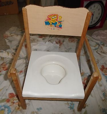 VINTAGE BABY POTTY CHAIR