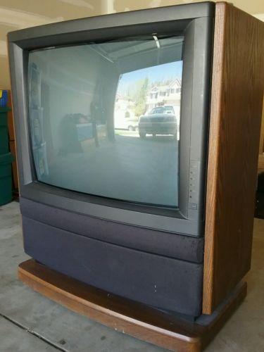 FREE! Vintage Retro Toshiba Console Television TV 36