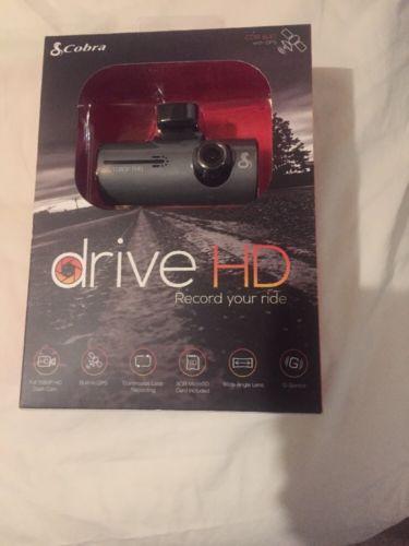 New Cobra Drive HD Dash camera, GPS,  G senser