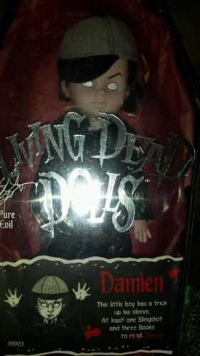 Living Dead Doll Damien 2000 he is 16 years old HTF