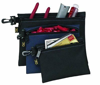 Small Leathercraft Multi Hand 3 Bag Pack Set Zipper Bags Tools Parts First Aid
