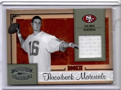 Alex Smith   Throwback Materials Rookie jersey