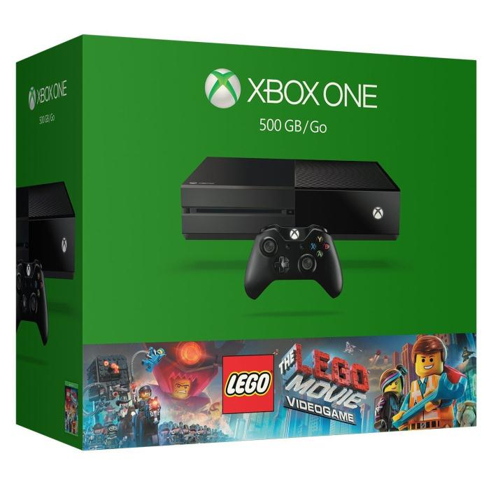 Xbox One 500GB Console - The LEGO Movie Videogame Bundle NEW