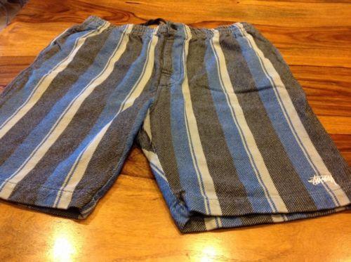 Mens Stussy Blanket Shorts Large Used