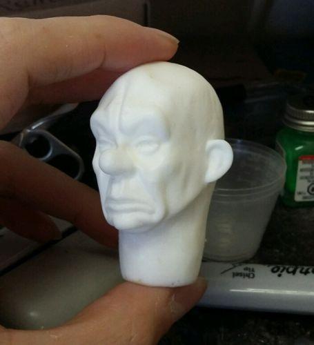 1/6 custom Joker/Grumpy clown thug resin head mask