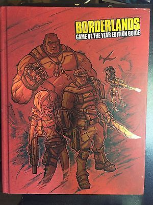 Borderlands Game of the Year Xbox 360 PS3 Official Strategy Guide Hardcover
