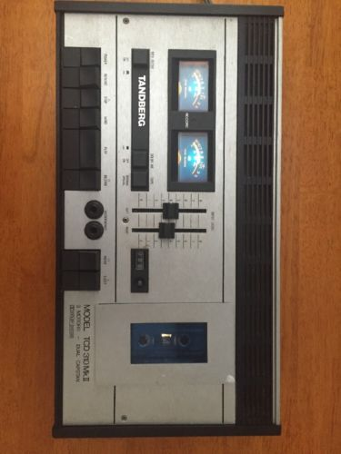 VTG Tandberg TCD 310 MkII Dual Capstan Cassette Tape Player Recorder Made Norway