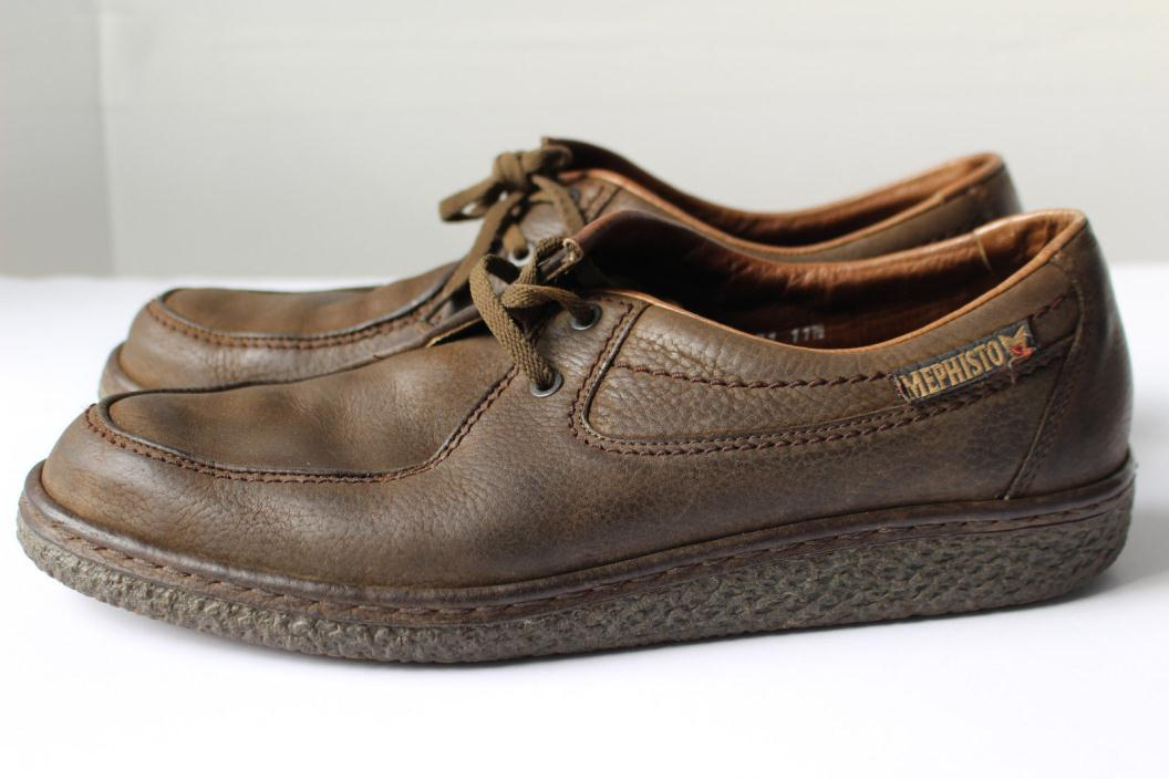 VTG Mephisto Slacker Air Relax Crepe Sole Casual Shoes Made in France 11.5 M